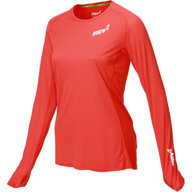 inov-8 Base Elite Jersey manga larga Mujer, red